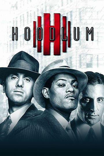 Laurence Fishburn and Andy Garcia in Hoodlum